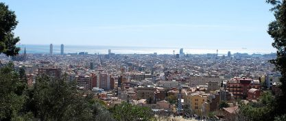 Barcelona-panorama (fot. Ivan Mlinaric)