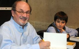 Salman-Rushdie-and-Luka (fot. ABCNEWS.com)