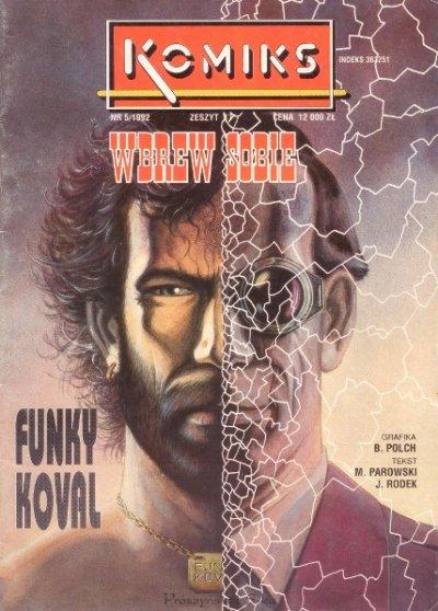 Funky Koval - komiks 1-4 [.CBR][PL]