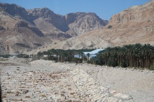Kibuc na Pustyni Judejskiej