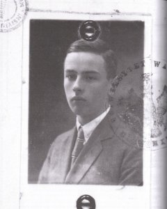Witold Gombrowicz jako student prawa