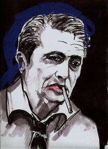 Marek Hłasko - portret Zbigniewa Kresowatego