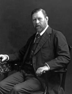 Bram Stoker na fotografii z 1906 r.