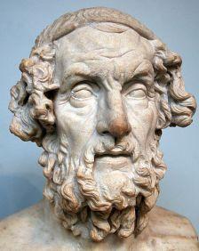 Homer - rzymska kopia hellenistycznej rzeźby z II wieku p.n.e. (British Museum)