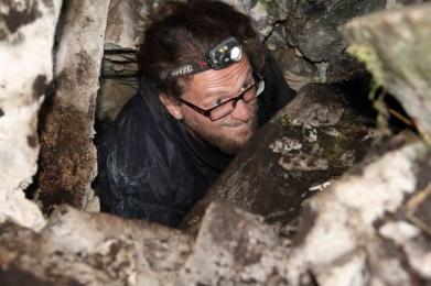 Pierwsze wejście do Jaskini Hardej (fot. Sebastian Korczyk)