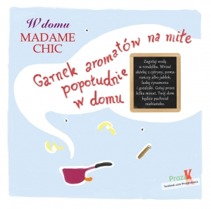 W domu Madame Chic Garnek aromatow