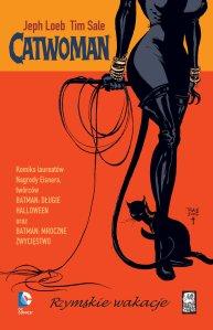 Catwoman Rzymskie wakacje okladka