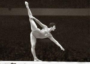 Eva Bosákova - czterokrotna medalistka olimpijska. Zdobyła złoty medal na IO w Rzymie '1960 w ćwiczeniach na równoważni.