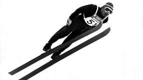 Jiří Raška - mistrz olimpijski w skokach narciarskich z Grenoble '1968. Pierwszy czechosłowacki złoty medalista IO.